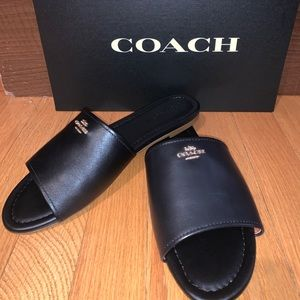Coach Slip-on Sandals - NWT